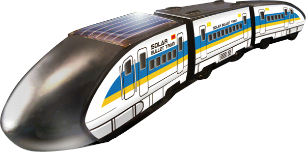 Solar Powered Bullet Train ** Free Shipping **